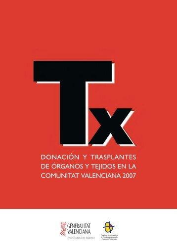 Donación y trasplantes de órganos y tejidos en la Comunidad ...