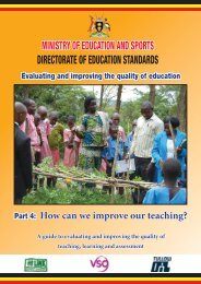 How can we improve our teaching? - VSO