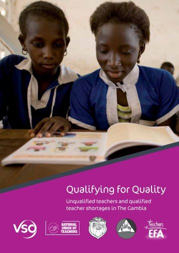 Qualifying for Quality: The Gambia – Full report (2011) - VSO