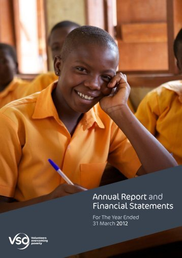 Annual Report and Financial Statements - VSO