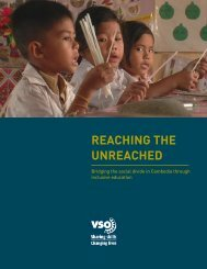 bridging the social divide in Cambodia through inclusive ... - VSO