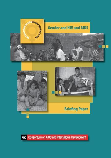 Gender and HIV and AIDS briefing paper (UK Consortium on ... - VSO