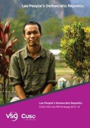 VSO Laos Strategy