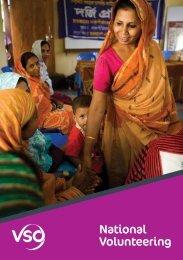 National volunteering – country case studies (926KB) - VSO