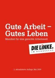 Gute Arbeit – Gutes Leben - MdB Alexander Ulrich