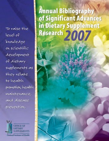 Download - Office of Dietary Supplements - National Institutes of ...