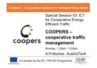 see presentation... - Coopers