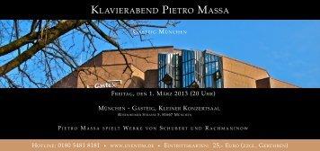 Am 16. März 2014: Konzert in Gasteig München mit den Moments ...