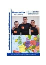 Newsletter 37 - Different Strokes