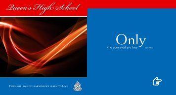 prospectus-2 - Queen's High School