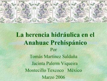 La herencia hidráulica de Texcoco 2
