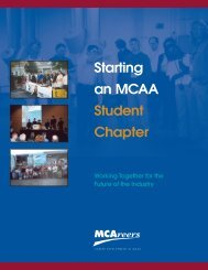 your own student chapter today - the Mechanical Contractors ...