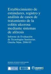 Establecimiento de estándares, registro y análisis de ... - Euskadi.net