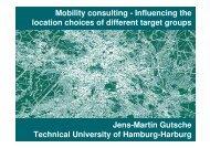 Mobility management - Institut für Verkehrsplanung und Logistik der ...