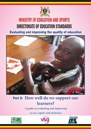 How well do we support our learners? - VSO