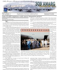 Supplement January 2009.indd - Davis-Monthan Air Force Base
