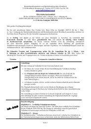 Elterninformationsblatt - HAK HAS Mistelbach