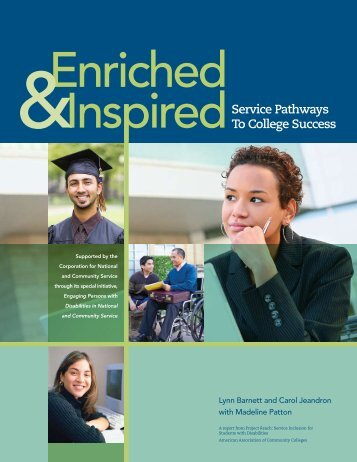 Enriched and Inspired: Service Pathways to College Success