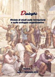 n.1 - 2010 - Dialoghi
