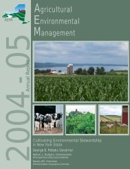 2004-05 Annual Report - NYS Soil & Water Conservation Committee