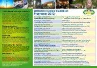 Programm 2013 - WVNET GmbH