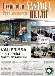 Nastolan kunnan tiedotuslehti 1/2012 - Nastolan kunta