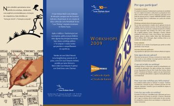workshops - Lean Institute Brasil