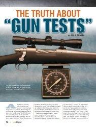 The Truth About Gun Tests - Gun Digest