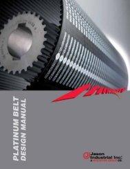 Platinum Belt Design Manual - Jason Industrial