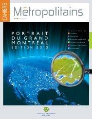 Cahiers métropolitains no 1 - Portrait du Grand Montréal ... - aqtim