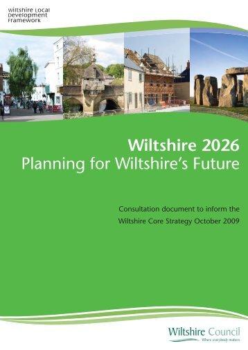 Consultation document COVER.ai - Wiltshire Council