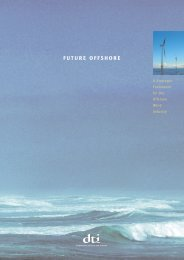 Future Offshore - a strategic framework for the ... - DTI Home Page