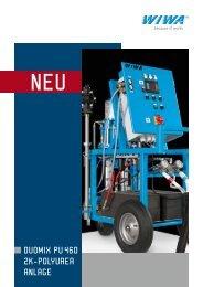 duomix pu 460 2k-polyurea anlage - MSK-Maass Handels GmbH