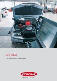 Klik hier voor de Fronius Acctiva brochure.