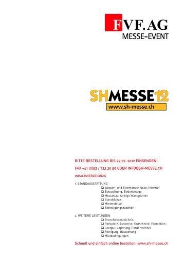 28. Oktober 2012 - Schaffhauser Herbstmesse