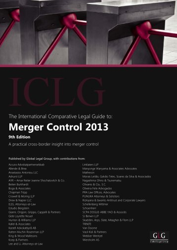 Merger Control 2013 - Turkey - ELIG Attorneys at Law