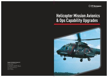 Helicopter Mission Avionics & Ops Capability ... - ST Aerospace