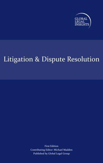 Litigation & Dispute Resolution - ELIG Attorneys at Law