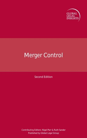 Merger Control 2nd Edition - ELIG Attorneys at Law