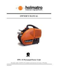 OWNER'S MANUAL PPU 15 Personal Power Unit - SOLD