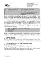 Last Updated 4/2004 1 Directions: University ... - UCSF Fresno