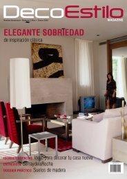 ELEGANTE SOBRIEDAD - Caprichos Daneses