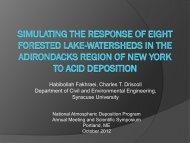 Presentation - National Atmospheric Deposition Program