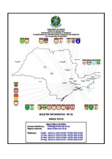 31 Mai 13 - 2ª ICFEx - Exército Brasileiro