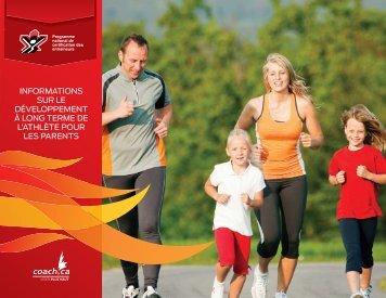 informations sur le développement à long terme de l'athlète pour les ...