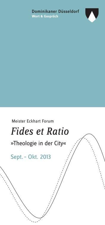Flyer als PDF - Dominikaner Düsseldorf
