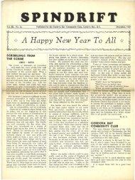 spindrift dec 1950 - Cordova Bay Association for Community Affairs
