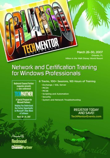 Network and Certification Training for Windows ... - 1105 Media