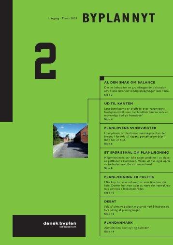 Marts - Dansk Byplanlaboratorium