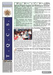 05.Edisi_September_2003 - Kantor Jaminan Mutu - Universitas ...